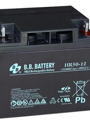 Аккумулятор BB BATTERY, HR50-12/B2