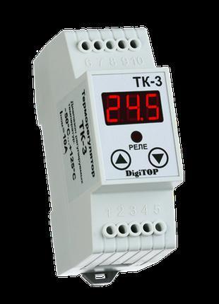 Терморегулятор DigiTOP ТК-3 (одноканальный, датчик DS18B20) DI...