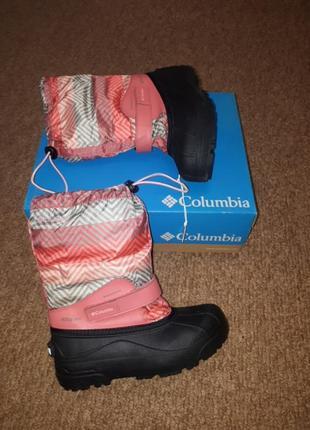 Зимние сапоги columbia 37