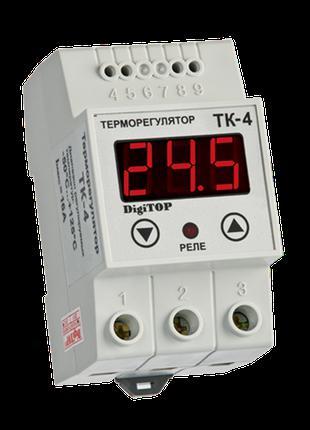 Терморегулятор DigiTOP ТК-4 (одноканальный, датчик DS18B20) DI...