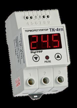 Терморегулятор DigiTOP ТК-4Т (одноканальный, датчик DS18B20) D...