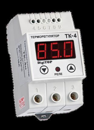 Терморегулятор DigiTOP ТК-4Н (одноканальный, датчик DS18B20) D...