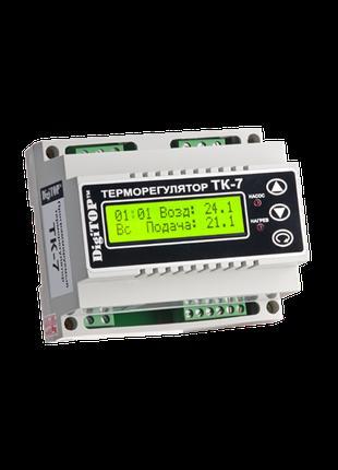 Терморегулятор DigiTOP ТК-7 (трехканал. с недельным программат...