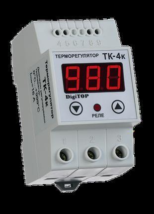 Терморегулятор DigiTOP ТК-4К (одноканальный, без датчика ТХА) ...