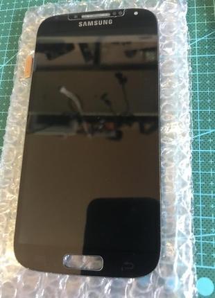 Дисплей для Samsung I9500 Galaxy S4, черный, с сенсорным экраном