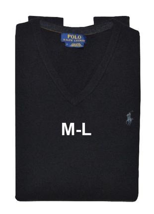 Свитер/пуловер ralph lauren, 100% шерсть австралийского мерино...