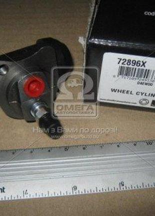 Цилиндр тормозная рабочий DAEWOO MATIZ задний | ABS