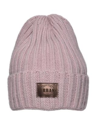 Зимняя шапка на флисе. 52-60 р.