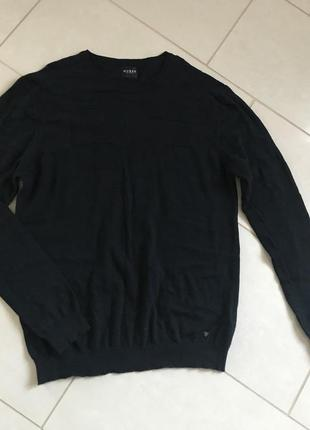 Свитер пуловер мужской стильный модный дорогой  бренд guess ра...