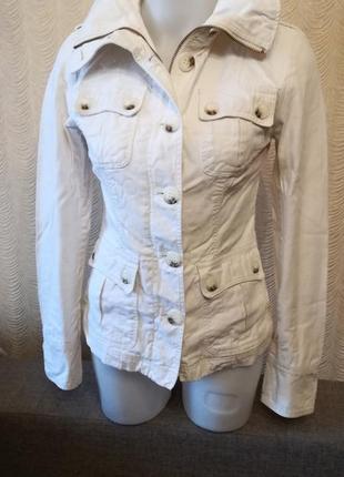 Куртка пиджак сафари размер 34 divided