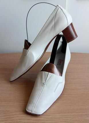 Элегантные кожаные туфли 40 (6) р. 27,7 см. sioux sacchetto ге...