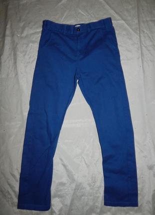 Джинсы брюки штаны на мальчика модные 11-12 лет 152см