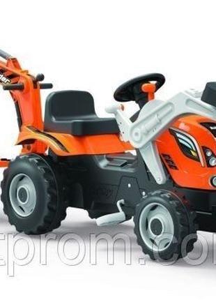 Трактор с прицепом и 2 ковшами Smoby 710110