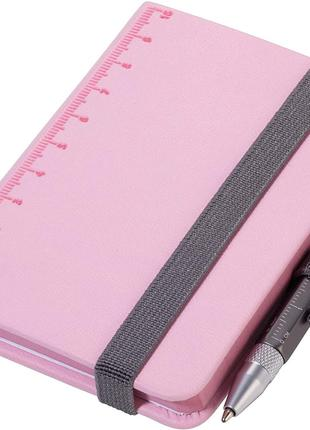 Troika Блокнот Din A7 Lilipad + ручка Liliput, розовый