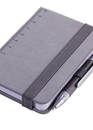 Troika Блокнот Din A7 Lilipad + ручка Liliput, серый