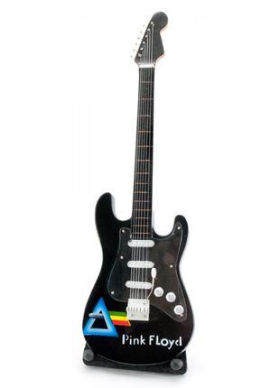 """Гитара """"Pink Floyd""""миниатюра дерево 24х7х2 см 29903"""