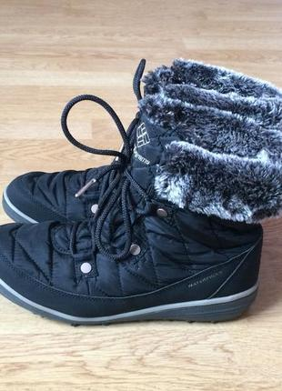 Зимние термо ботинки columbia 40 размера в состоянии новых