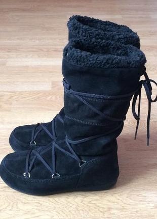 Зимние сапоги moon boot 37 размера в идеальном состоянии