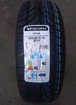 Нові зимові шини Paxaro 205/60 R 16 Winter [92]H