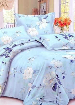 Сатиновый комплект постельного белья в подарочной упаковке