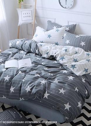 Комплект постельного белья с компаньоном из сатина