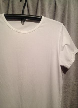 Базовая белая футболка.022