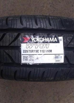 Нові зимові шини Yokohama 225/70 R 15C WY01 [112/110]R