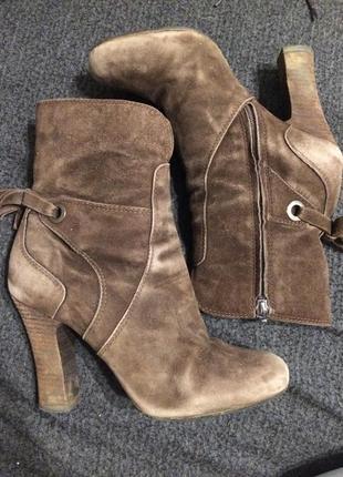 Geox сапоги сапожки ботинки ботильоны замшевые