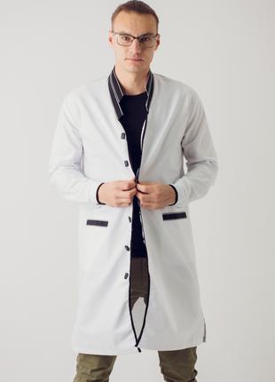 Дизайнерский медицинский халат (мужской)