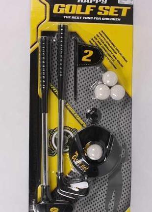 Набор для игры в гольф 188-3 (84/2) 2 клюшки, 4 мячика, на листе