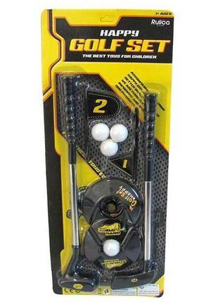Набор для игры в гольф 188-5 (72/2) 2 клюшки, 4 мячика, на листе