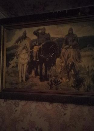 Картина《Три богатыря》