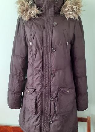Пуховик amisu, пальто зимние, куртка