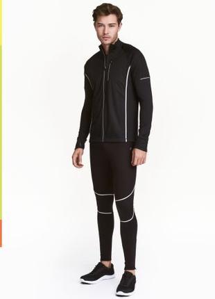 Спортивные тайтсы для бега и занятий спортом. H&M