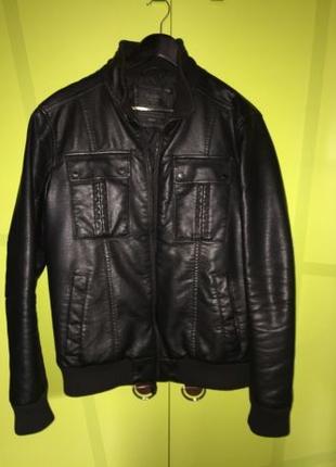 Мужская куртка искусственная кожа Colin's размер L