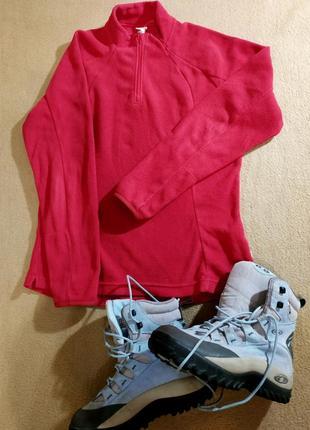 Флисовая кофта, тепло и ярко, сост.новой, много брендовой обув...