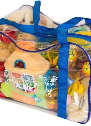 Сумка в роддом, для игрушек Organize синий K005 SKU-34-176268