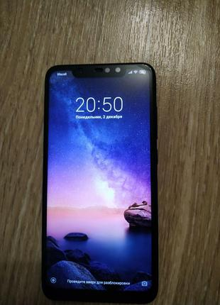 Xiaomi Redmi Note 6 Pro 4/64GB Black Global +стекло и чехол