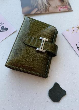Кожа органайзер для карточек визитница