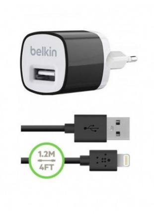 Сетевое зарядное устройство Belkin USB Micro Charger + Lightni...