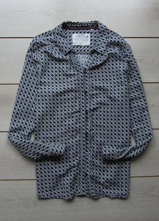 Акция до нового года! №123 красивая абстрактная рубашка блуза ...