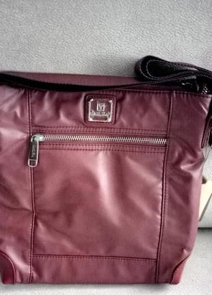 Женская сумка непромокаемая через плечо