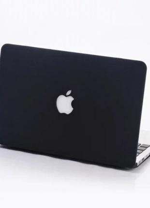 Глянцевая накладка на MacBook Pro 15(2016) Черная