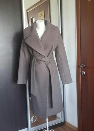 Осеннее женское пальто season жаклин-4 мокко
