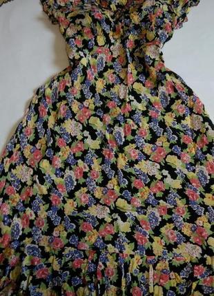 Платье кружевное макси в пол нарядное вечернее 54 56 размер но...