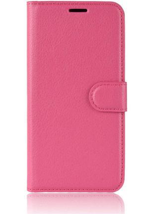 Чехол-книжка Litchie Wallet для Motorola One Zoom Rose (hub_sb...