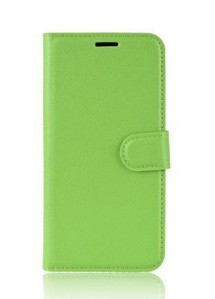 Чехол-книжка Litchie Wallet для Asus Zenfone 6 ZS630KL Green (...
