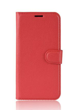 Чехол-книжка Litchie Wallet для Asus Zenfone 6 ZS630KL Red (hu...