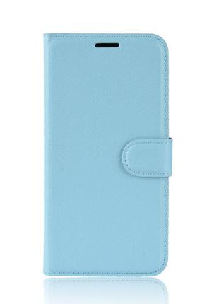 Чехол-книжка Litchie Wallet для Asus Zenfone 6 ZS630KL Blue (h...