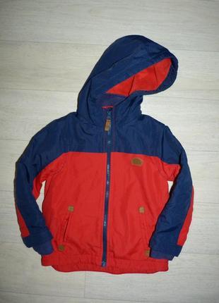 Ветровка на флисовой подкладке, куртка rebel 3-4 года